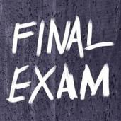 final exam calender pic
